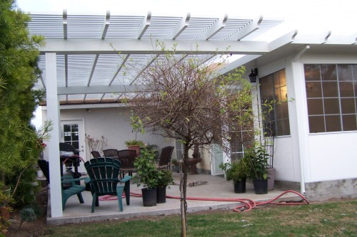 Patio Covers – Open Lattice1