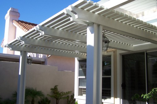 Patio Covers – Open Lattice10
