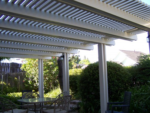 Patio Covers – Open Lattice11