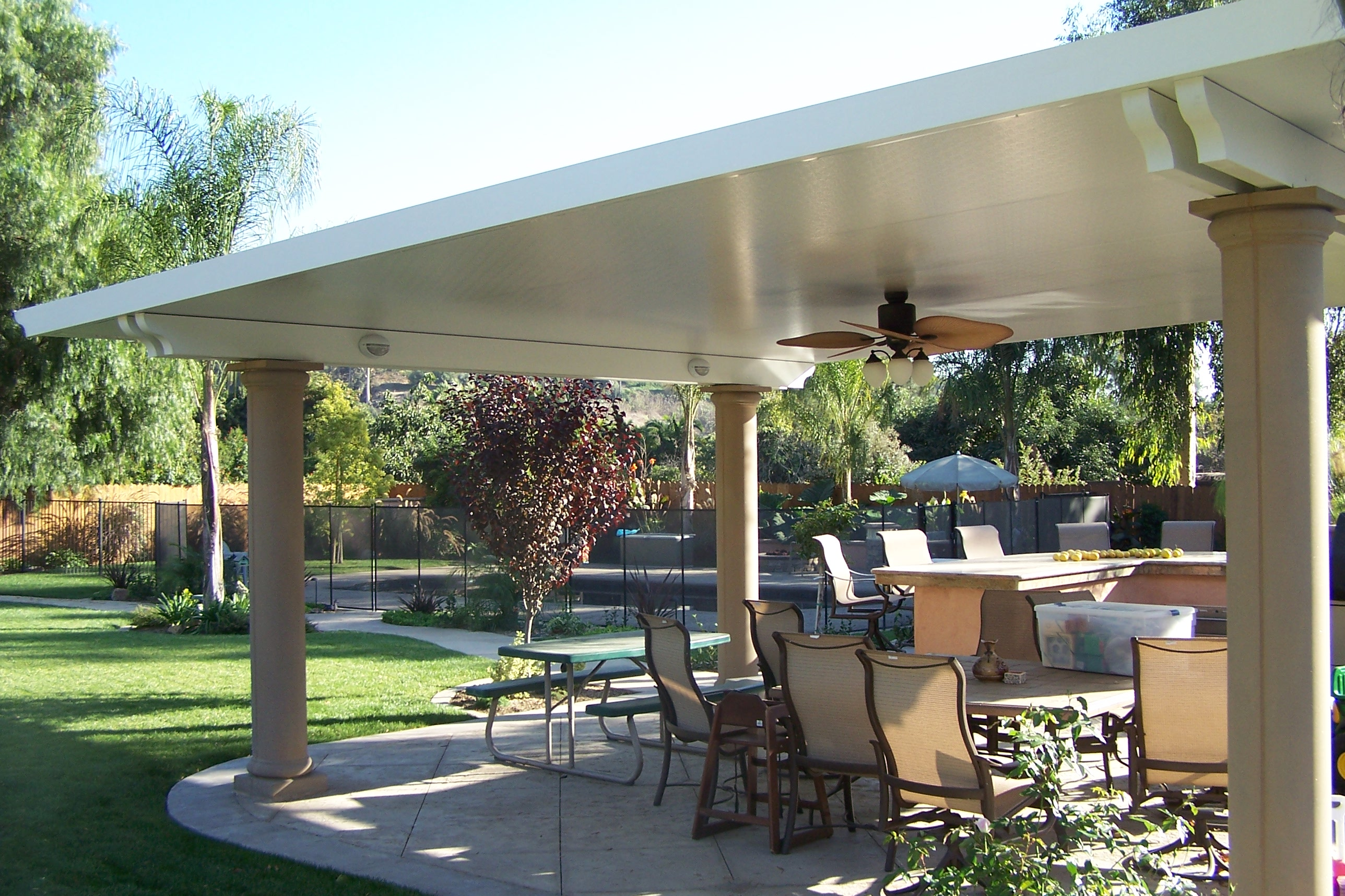 Patio Covers Solid Ocean Pacific Patios