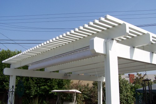 Patio Covers – Open Lattice22