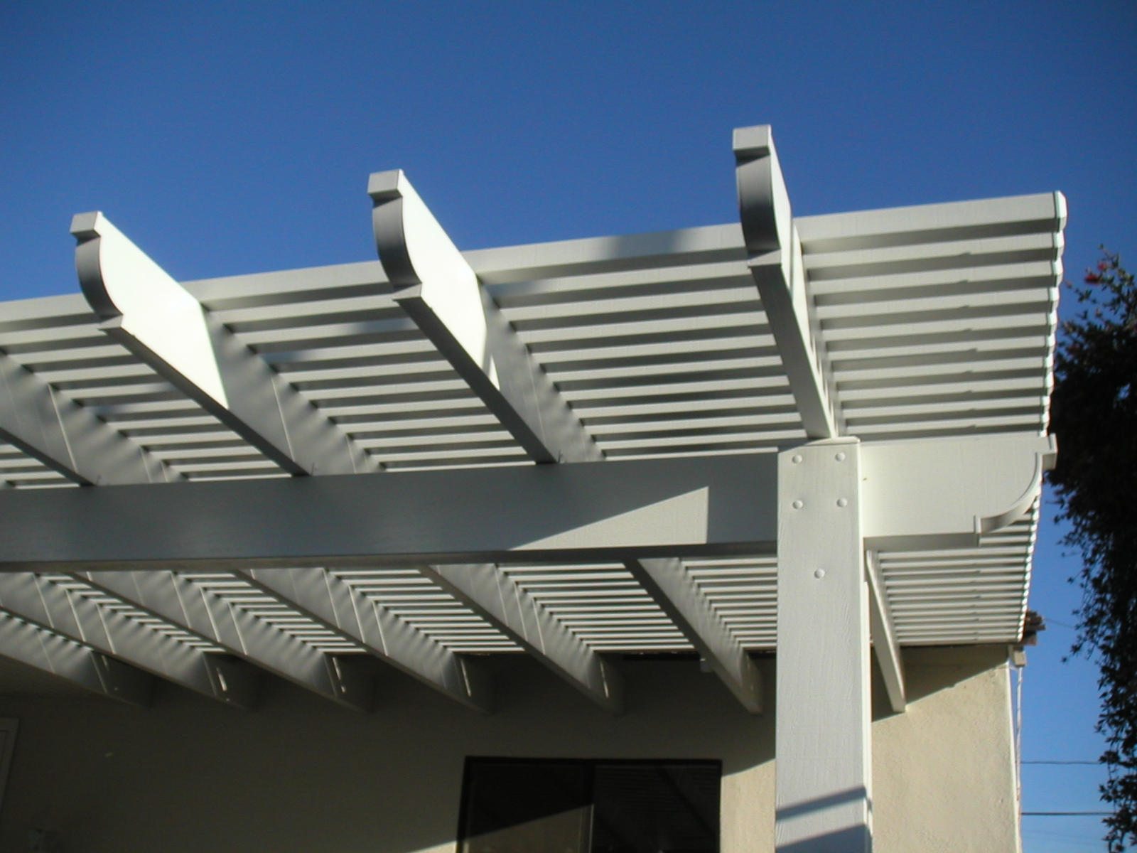 Open Lattice Patio Covers Southern California