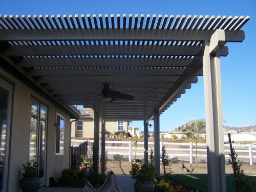 Patio Covers – Open Lattice31