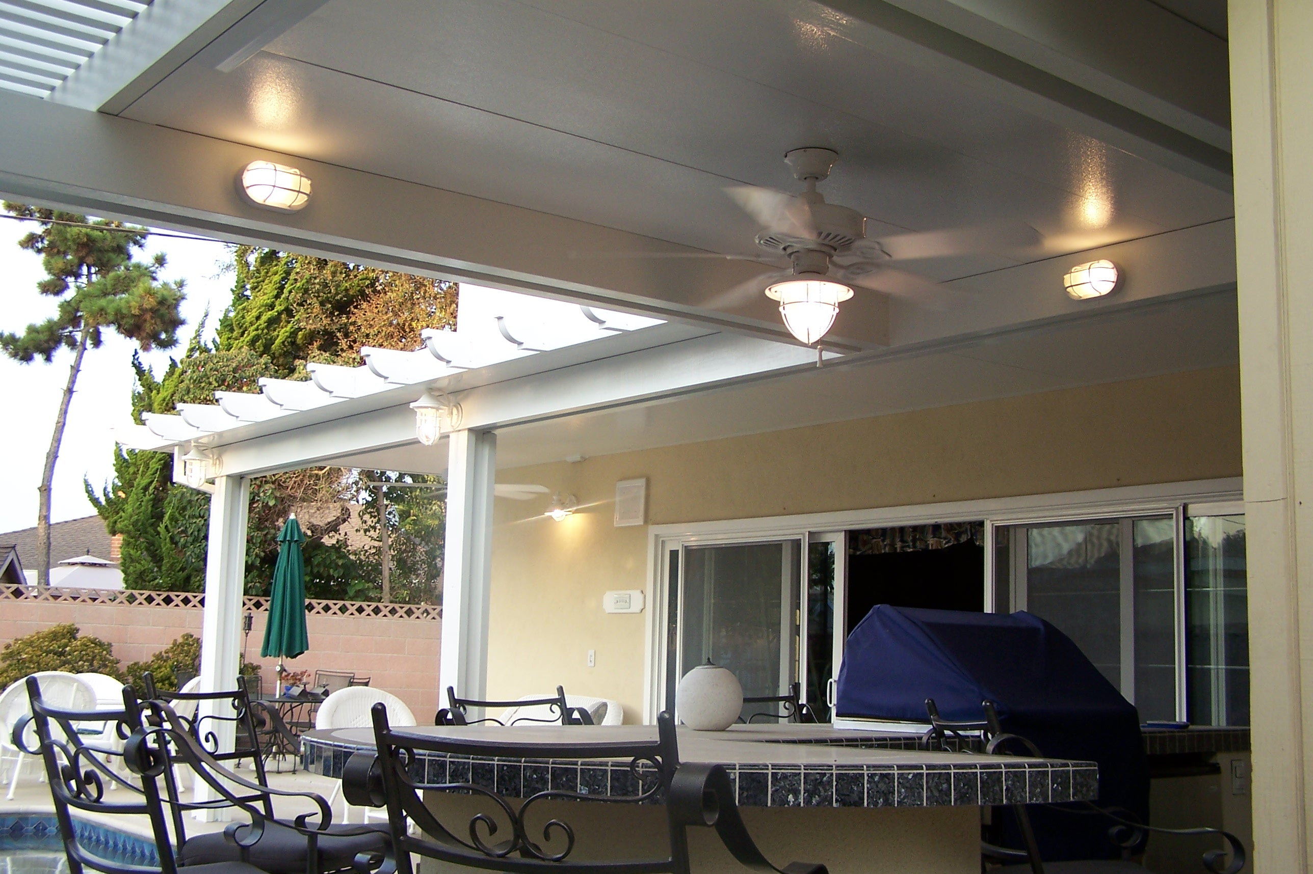 ... Solid Patio Cover9
